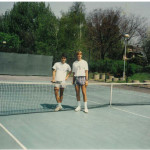 Belgrade 1992 with Srdjan Muskatirovic
