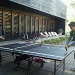 Table tennis with Nikola in L.A