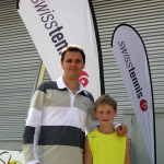With Alex at Swiss Tennis