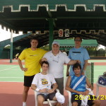 Practice with Silva (ITF 6)  ,Merida,Mexico