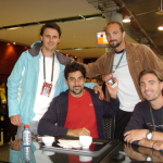 French Open 2003 with friends