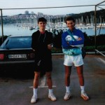 Porec 1990 with Oskar Gernac