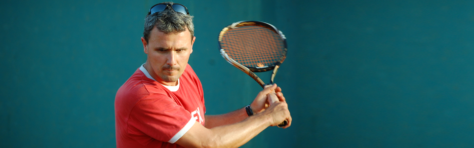 Thoughtful and profound in laying the tennis foundation of young players